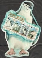 UU732 2008 SOUTH GEORGIA WWF FAUNA BIRDS PENGUINS !!! MICHEL 11,5 EURO !!! 1KB MNH - W.W.F.