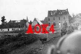 KERKHOVE Avelgem Kerk Ruine Mei 1940 Schelde Escaut Brug Wehrmacht Berchem Panzerjäger Abteilung 254 - Guerre, Militaire