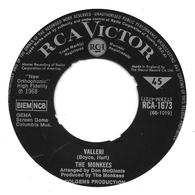 "The Monkees    ""  Valleri  "" - Vinyl Records"