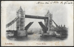 CPA ANGLETERRE - London, The Tower Bridge - River Thames