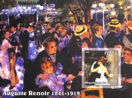 D - [38063]Tchad 2002 - ND/Imperf - Célébrité, Peintre - Auguste Renoir. - Tchad (1960-...)