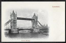 CPA ANGLETERRE - London, Tower Bridge - River Thames