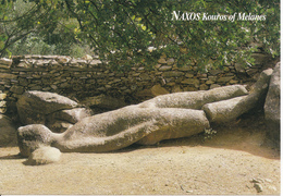 GRECE - NAXOS - KOUROS OF MELANES - Griekenland