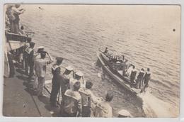 WW1 K.u.k. Austro-Hungarian Navy Sailors Saluting Officers 1918 B190410 - Krieg, Militär