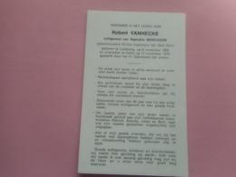D.P.-POLITIE-INSPECTEUR GENT-ROBERT VANHECKE °LEDEBERG 6-11-1908+EEKLO 17-11-1976 - Religion & Esotérisme