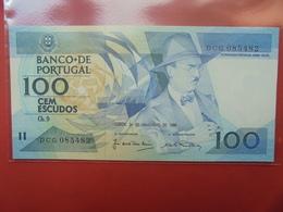 PORTUGAL 100 ESCUDOS 1988 PEU CIRCULER/NEUF - Portugal