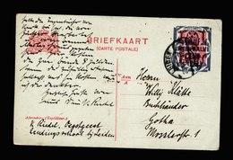 A6100) Niederlande Karte Leiden 27.05.24 N. Gotha - 1891-1948 (Wilhelmine)
