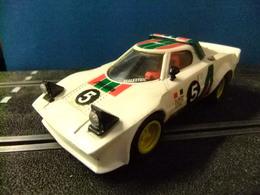 SCALEXTRIC LANCIA STRATOS Blanco Original EXIN Made In Spain - Road Racing Sets