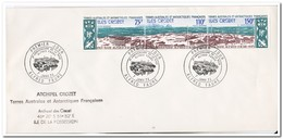 """Frans Antarctica 1974, FDC, 10 Years Station """"Alfred Faure"""" - FDC"""