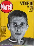 PARIS MATCH N°2009 - Hors Série (1987) - Anquetil Histoire D'un Géant - Testi Generali