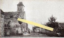 Reuves Guerre 1914 1918  Rue Principale - Autres Communes
