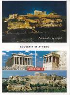 GRECE - ATHENES - ACROPOLIS 10 VUES - Grèce