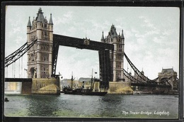 REPRODUCTION ANGLETERRE - London, The Tower Bridge - River Thames