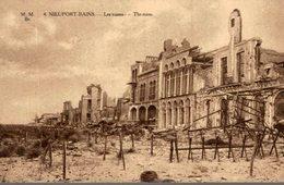 NIEUPORT - VILLE - LES RUINES - Nieuwpoort