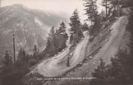 Lacets De La Route D'Orsières à Champex - VS Valais