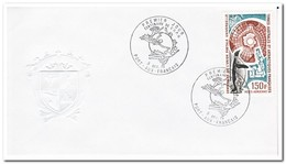 Frans Antarctica 1974, FDC, 100 Years UPU - FDC