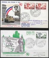 T 00847 - France 1952-1954, FDC Leclerc, Côte 22.00 € - FDC