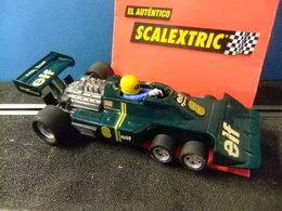 SCALEXTRIC TYRRELL P 34 Verde Original EXIN Made In Spain - Circuitos Automóviles