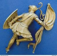 ARMURE CHEVALIER Bronze Vers 1814-1830 - Armi Da Collezione