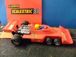 SCALEXTRIC TYRRELL P 34 Rojo, Original EXIN Made In Spain - Circuitos Automóviles