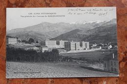 BARCELONNETTE (04) - VUE GENERALE DES CASERNES - Barcelonnette