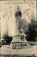 Cp St. Yrieix Haute Vienne, Le Monument Aux Morts De La Grande Guerre - Other Municipalities