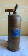 Pulvérisateur à Haute Pression En Cuivre Rouge Vintage - Cobre