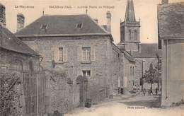 53-SAINT-CUR-EN-PAIL- ARRIVEE ROUTE DE VILLEPAIL - France