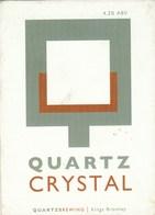 QUARTZ BREWING (KINGS BROMLEY, ENGLAND) - QUARTZ CRYSTAL - PUMP CLIP FRONT - Letreros