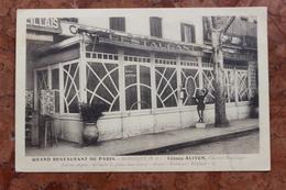 MANOSQUE (04) - GRAND RESTAURANT DE PARIS - LEONCE ALIVON CUISINIER PROPRIETAIRE - Manosque