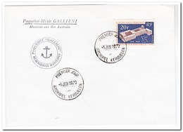 Frans Antarctica 1970, FDC, 50 Years IAO - FDC