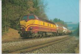 CP - TRAINS - LOCOMOTIVES - Locomotive Diesel-électrique CC Série 1800. - Treinen