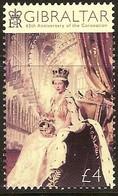 Gibraltar 2018 Micheln° 1856 *** MNH  6hth Anniversary Coronation Queen Elizabeth II - Gibraltar