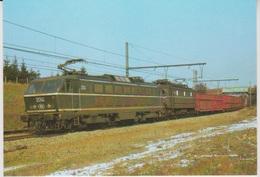 CP - TRAINS - LOCOMOTIVES - Locomotive électrique CC Série 20. - Treinen