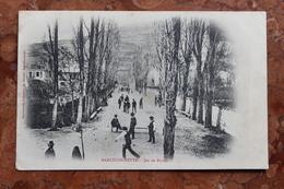 BARCELONNETTE (04) - JEU DE BOULES - PETANQUE - Barcelonnette