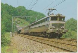 CP - TRAINS - LOCOMOTIVES - Locomotive Quadricourant CC Série 18. - Trains