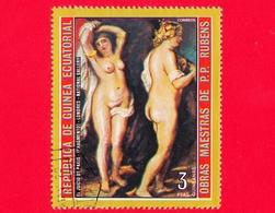 Nuovo - GUINEA EQUATORIALE - 1973 - Dipinti Di Peter Paul Rubens - Il Giudizio Di Parigi (dettaglio) - 3 - Guinea Equatoriale