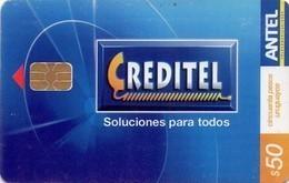 TARJETA TELEFONICA DE URUGUAY, 490a (004) - Uruguay