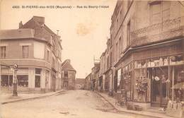 53-SAINT-PIERRE-DES-NIDS- RUE DU BOURG -L'ABBE - Autres Communes