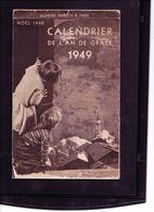 Calendrier Eclaireurs Unionistes De France 1949 - Documents
