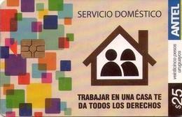 TARJETA TELEFONICA DE URUGUAY, 499a (003) - Uruguay