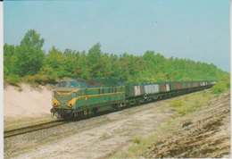 CP - TRAINS - LOCOMOTIVES - Locomotive Diesel-électrique BB Série 60. - Treinen