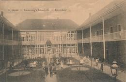 CPA - Belgique - Heide - Diesterweg's Schoolvilla - Binnenkoer - Kalmthout