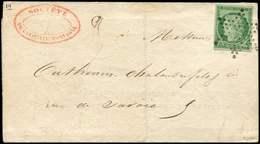 Let EMISSION DE 1849 - 2    15c. Vert, Obl. ETOILE S. LAC Du 12/6/52, TTB - 1849-1850 Ceres