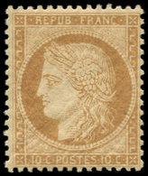 ** SIEGE DE PARIS - 36   10c. Bistre-jaune, Frais Et TB - 1870 Siege Of Paris