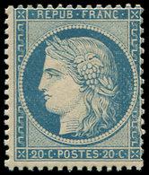 ** SIEGE DE PARIS - 37   20c. Bleu, TB - 1870 Siege Of Paris
