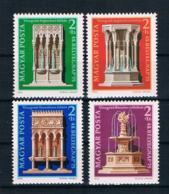 Ungarn 1975 Denkmalschutz Mi.Nr. 3060/63 Kpl. Satz ** - Ungebraucht