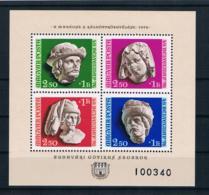 Ungarn 1976 Tag Der Briefmarke Block 118A ** - Ungebraucht