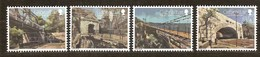 Gibraltar 2018 Micheln° 1838-1841 *** MNH   Cept Europa Bridges Bruggen Ponts - Gibraltar