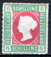 Germania Heligoland 1867 Unif.4 */MH VF/F - Heligoland